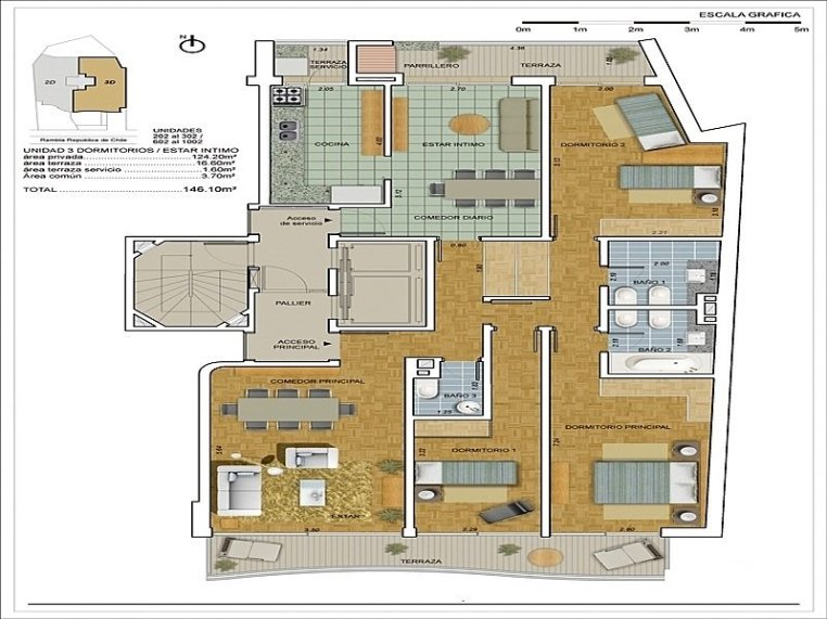 1492-Blueprint-of-Sea-View-Condos-in-Malvin-Area-Montevideo