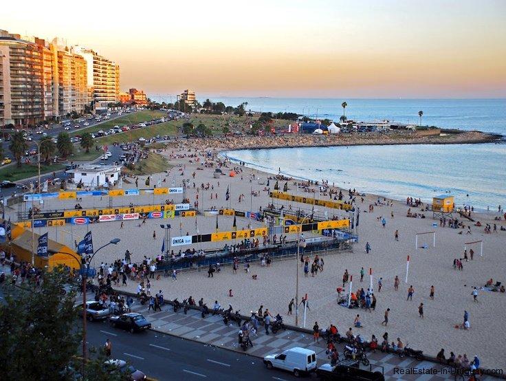 Beach-of-Montevideo-Uruguay