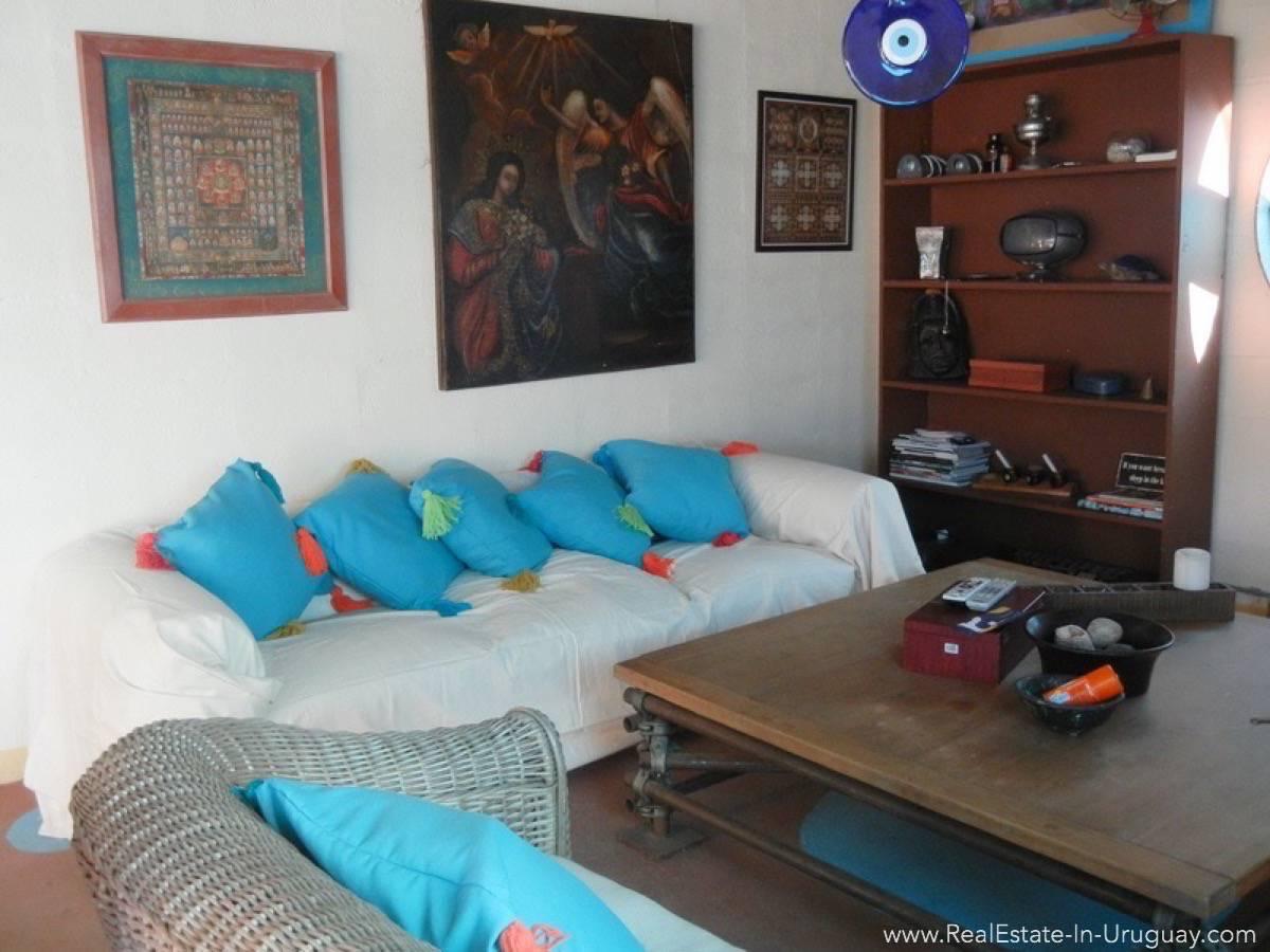 Modern House in Jose Ignacio Town - Living Room