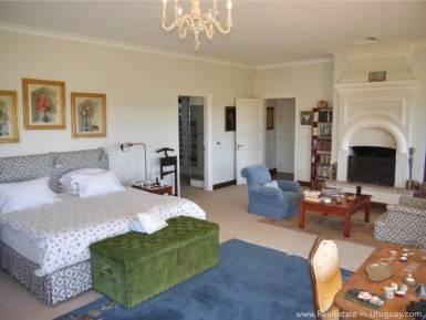Estancia on 397HA Land Bedroom w. Fireplace