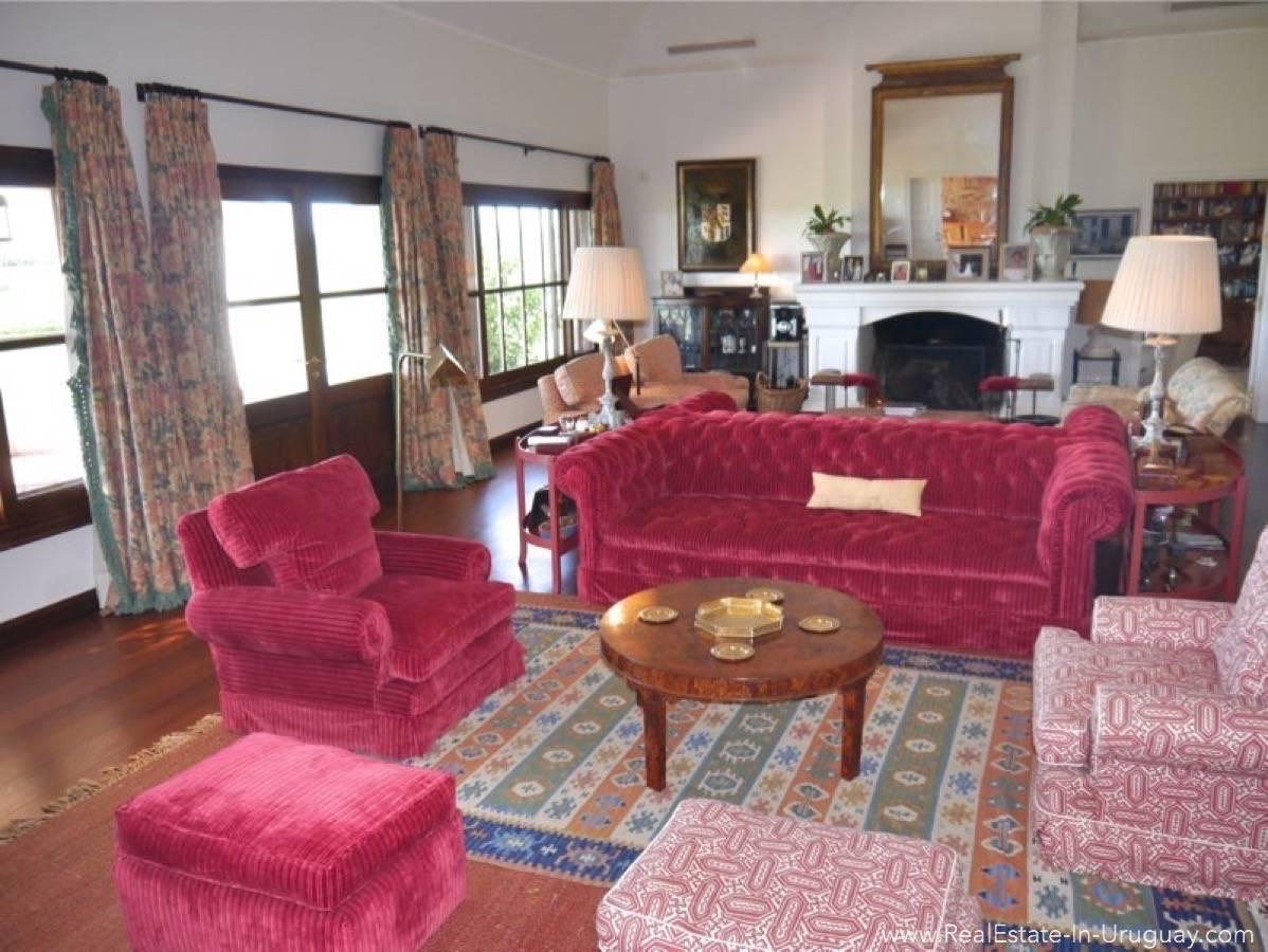 Estancia on 397HA Land Living Room