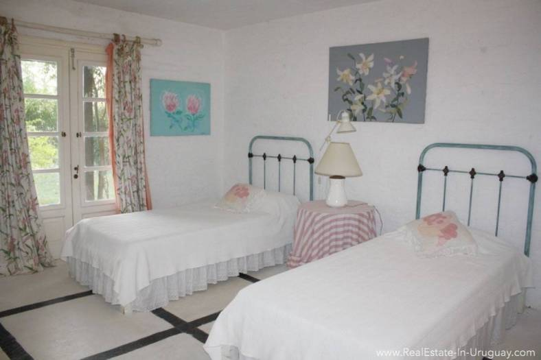 Romantic House in La Bara Bedroom2