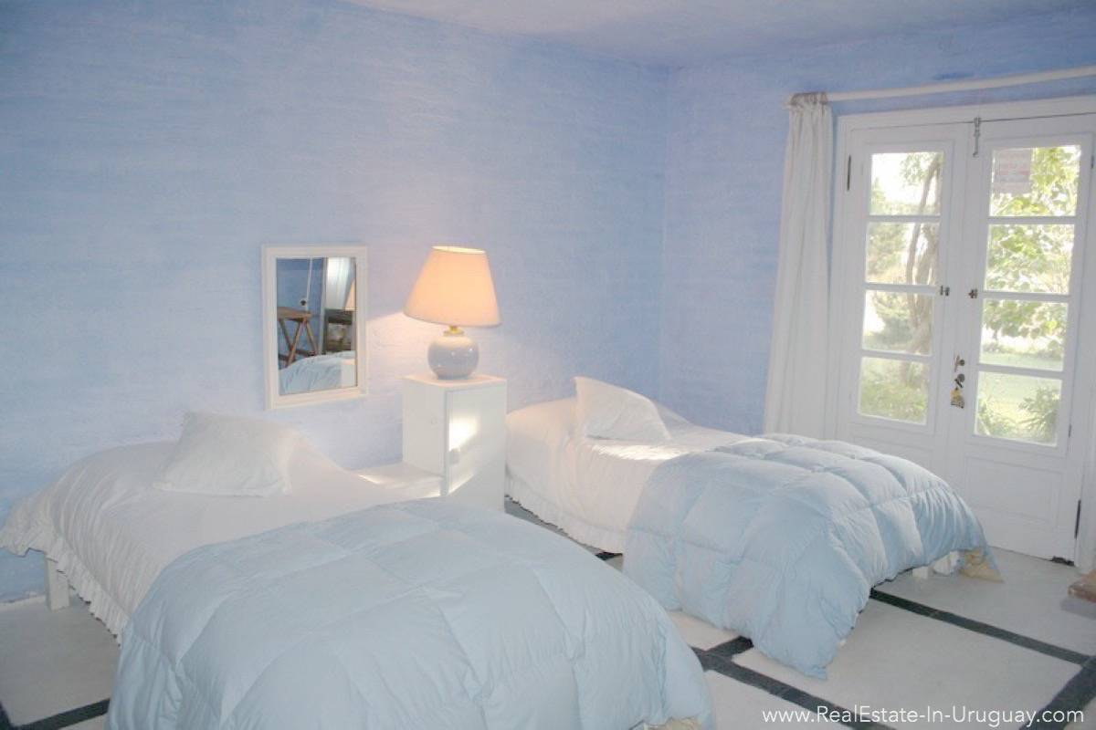 Romantic House in La Bara Bedroom3