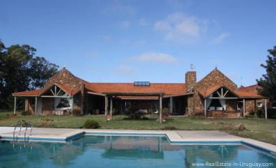 Estancia in Jose Ignacio - House with Pool