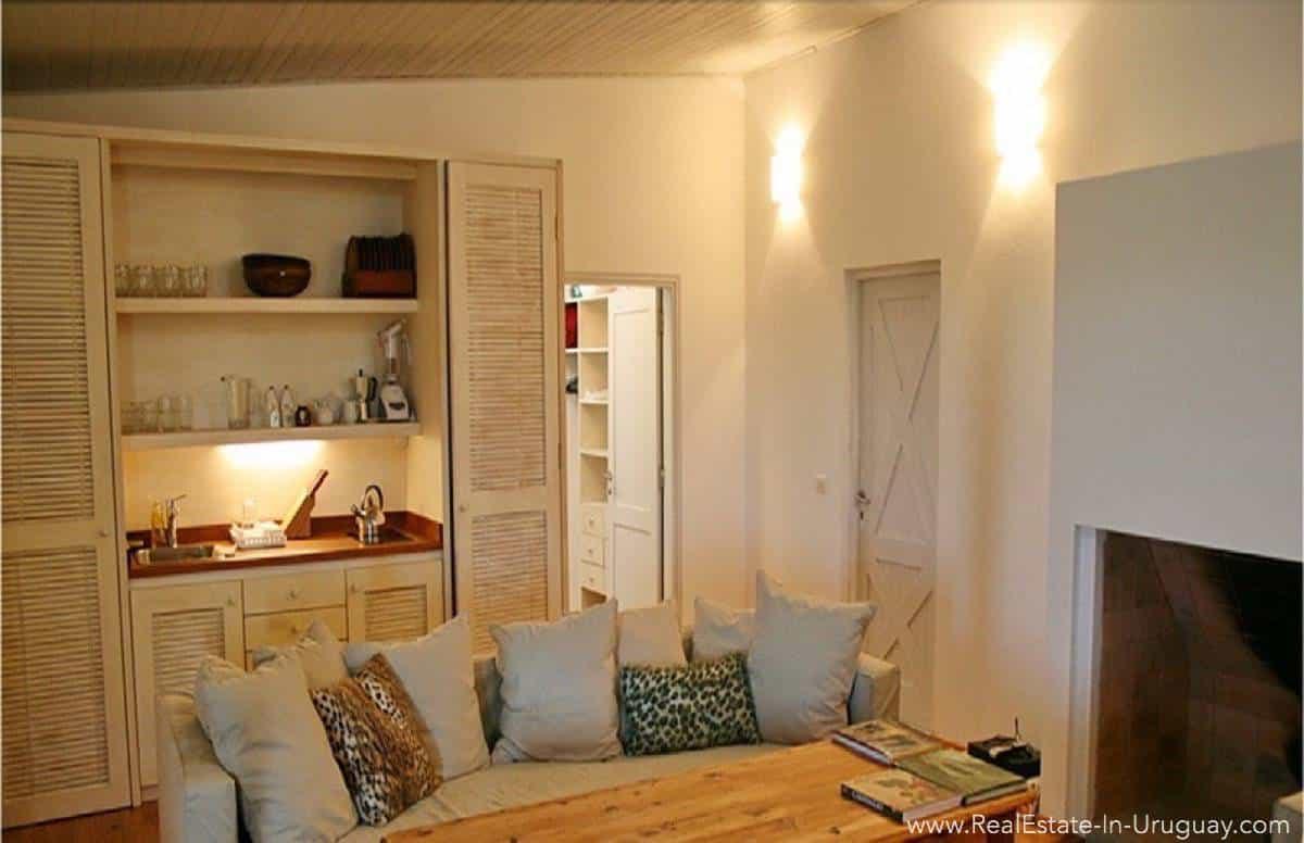 1000 Ha Chacra near Cabo Polonia - Living Room
