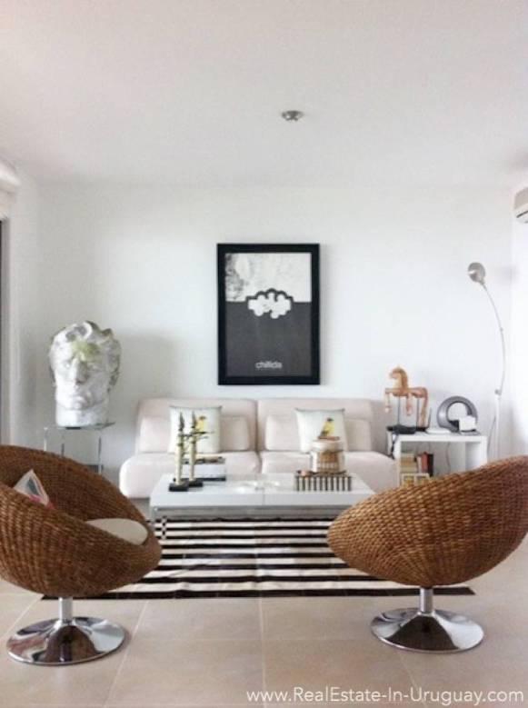Sea View Apartment - Living Room2