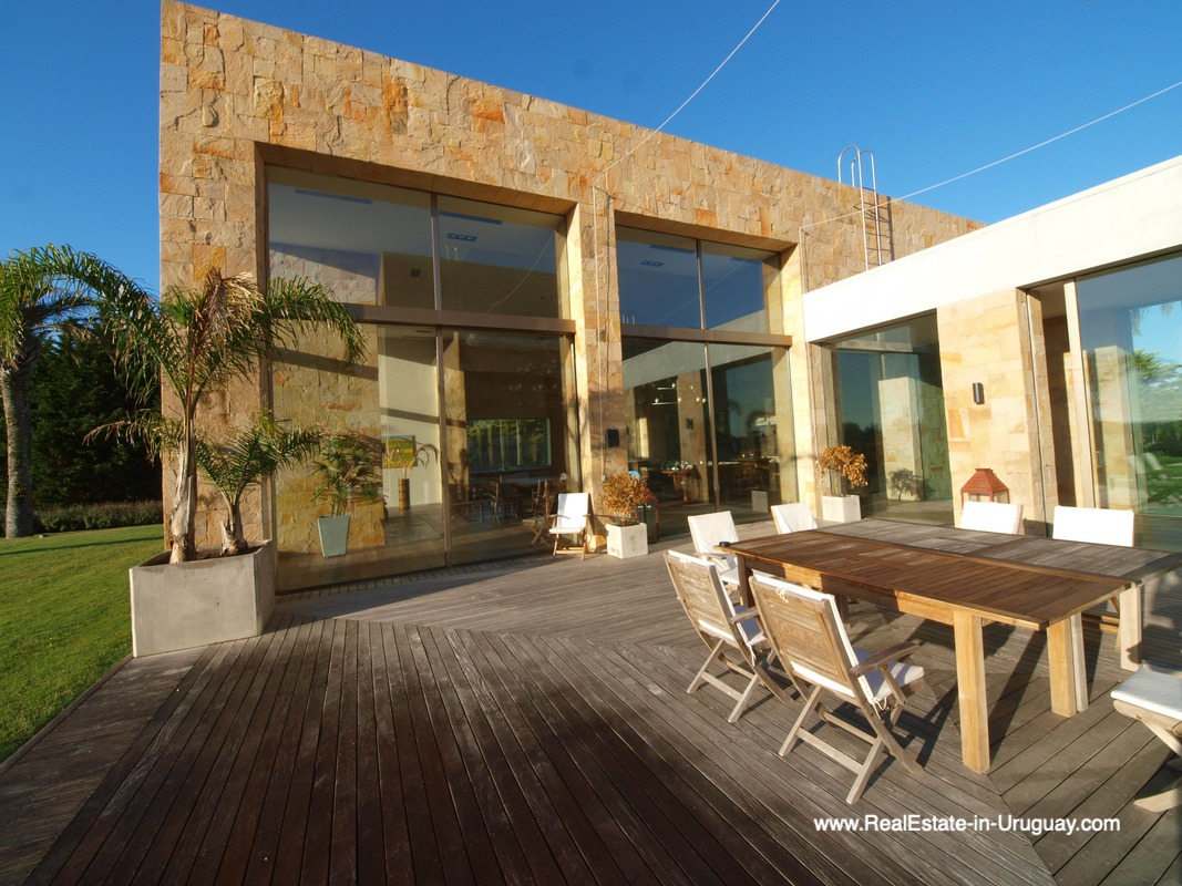 Splendid villa overlooking the ocean in Jose Ignacio