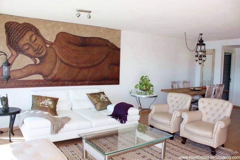 apartment with sea and lagoon views on mansa