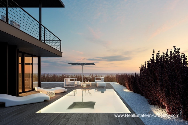 New Project with Modern Homes with Ocean Views in Jose Ignacio