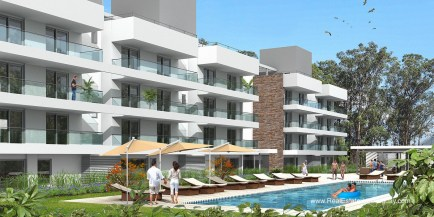 New Quality Apartments surrounded by Trees near Brava Beach
