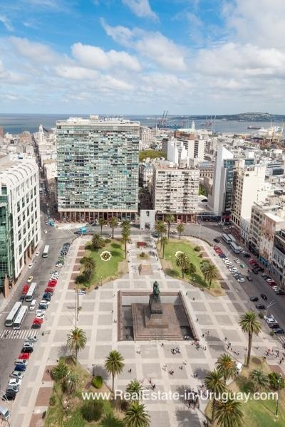 Apartment in the Historic Building Palacio Salvo in Montevideo, Uruguay