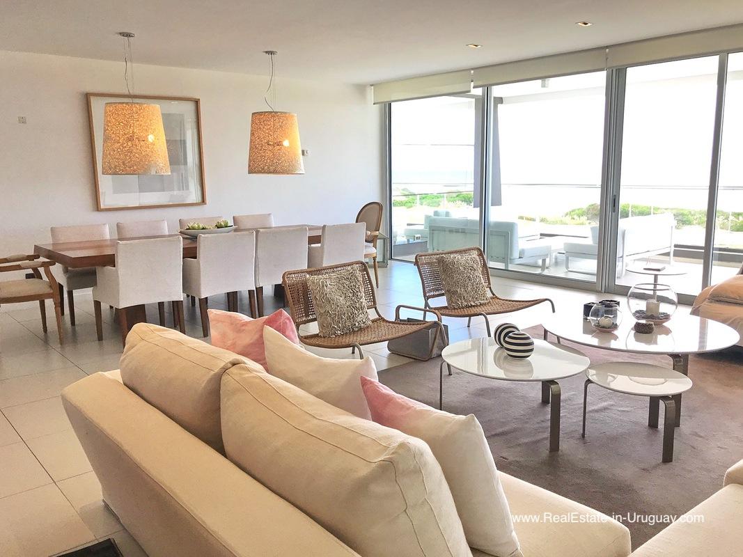 Modern Large Apartment on the Brava in Punta del Este