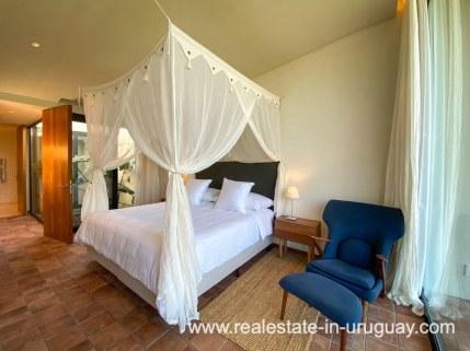 Main bedroom of Las Carcavas