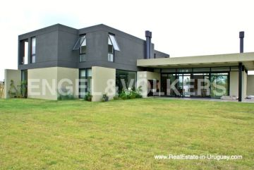Baco of Modern Home in the Gated Community Altos De La Tahona near Montevideo