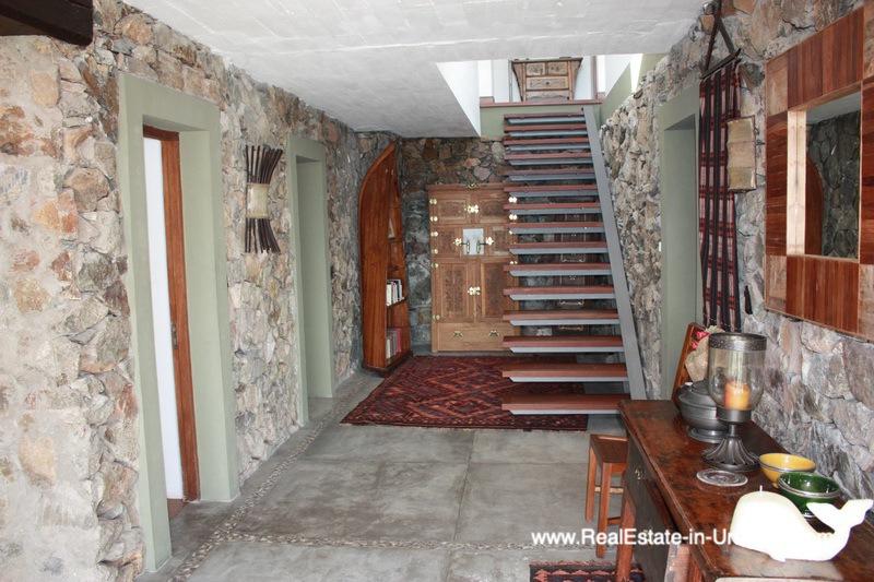 Staircase of Ocean Frontline Home in Punta Ballena near Punta del Este