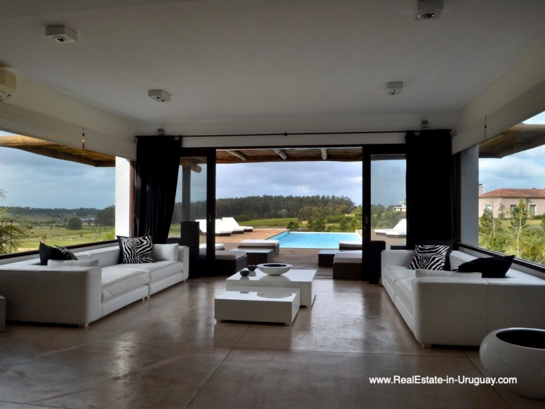 Living Room of Property in La Morada near the Beach Town Manantiales