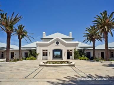 Entrance of Luxury Country Ranch by Golf Course La Barra outside Punta del Este