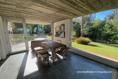 5998 Modern Home with Lagoon Views in Santa Monica near Jose Ignacio - Dining Room