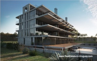Look of New Apartment Project Alma de Manantiales by Architect Martin Gomez in Manantiales