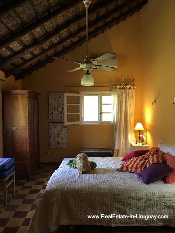 Bedroom of One of the Best Spots on Laguna del Sauce by Punta Ballena