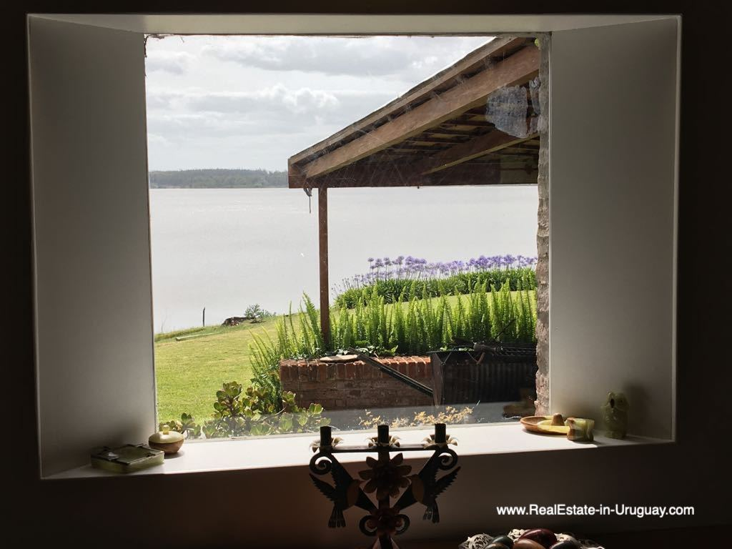 Window View of One of the Best Spots on Laguna del Sauce by Punta Ballena