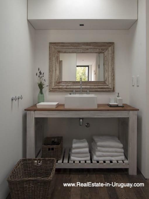 Bathroom of Modern Bungalow in La Juanita at the Entrance of Jose Ignacio near Casagrande