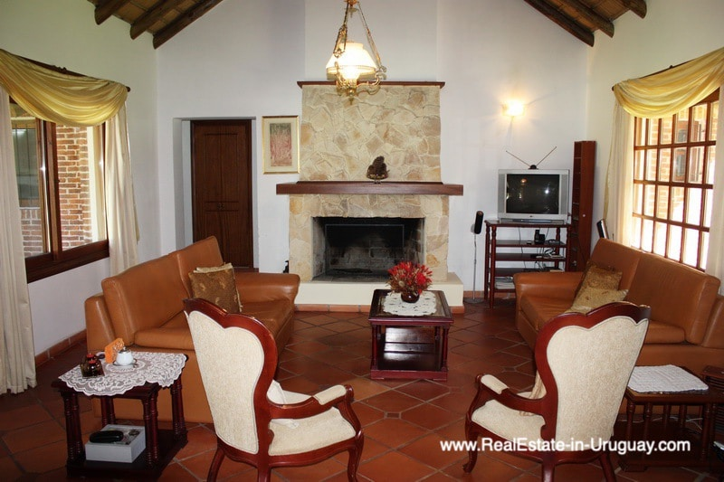 Living Room of Well Built Home in Parque Burnett in Punta del Este