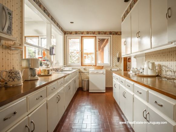 Kitchen of Large Property in the El Golf Area in Punta del Este