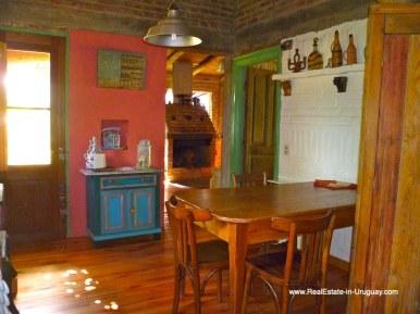 Room of Farm House in the Pueblo Eden Area