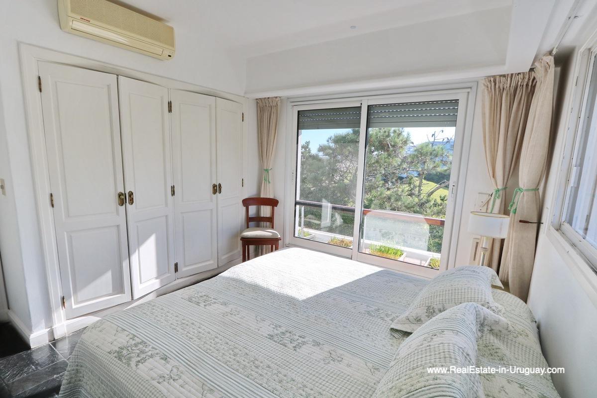 Guest Bedroom Penthouse with Ocean Views on Brava in Punta del Este
