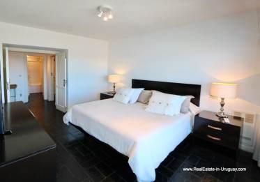Master Bedroom Penthouse with Ocean Views on Brava in Punta del Este
