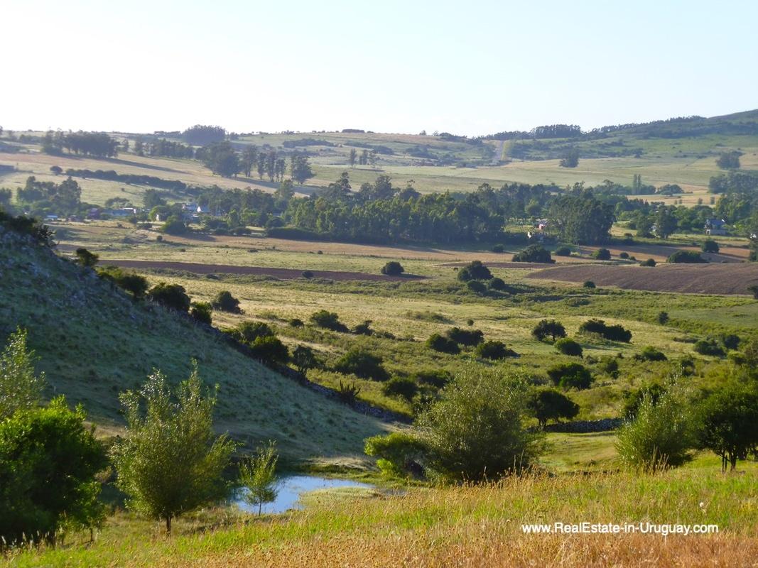 Valley views of Farm House in the Pueblo Eden Area