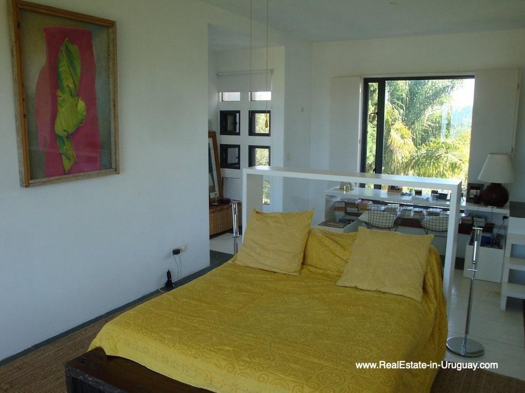 Master Bedroom of House on the Beach near Punta Ballena
