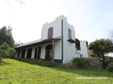 Historic Renovated Fronto of Farm House by Pueblo Eden