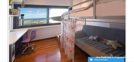 Guest Bedroom of Modern High-Tech Home in Laguna Blanca by Manantiales