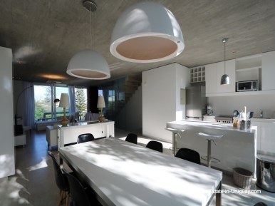 Dining of Beach Townhouse in La Barra by the Ocean