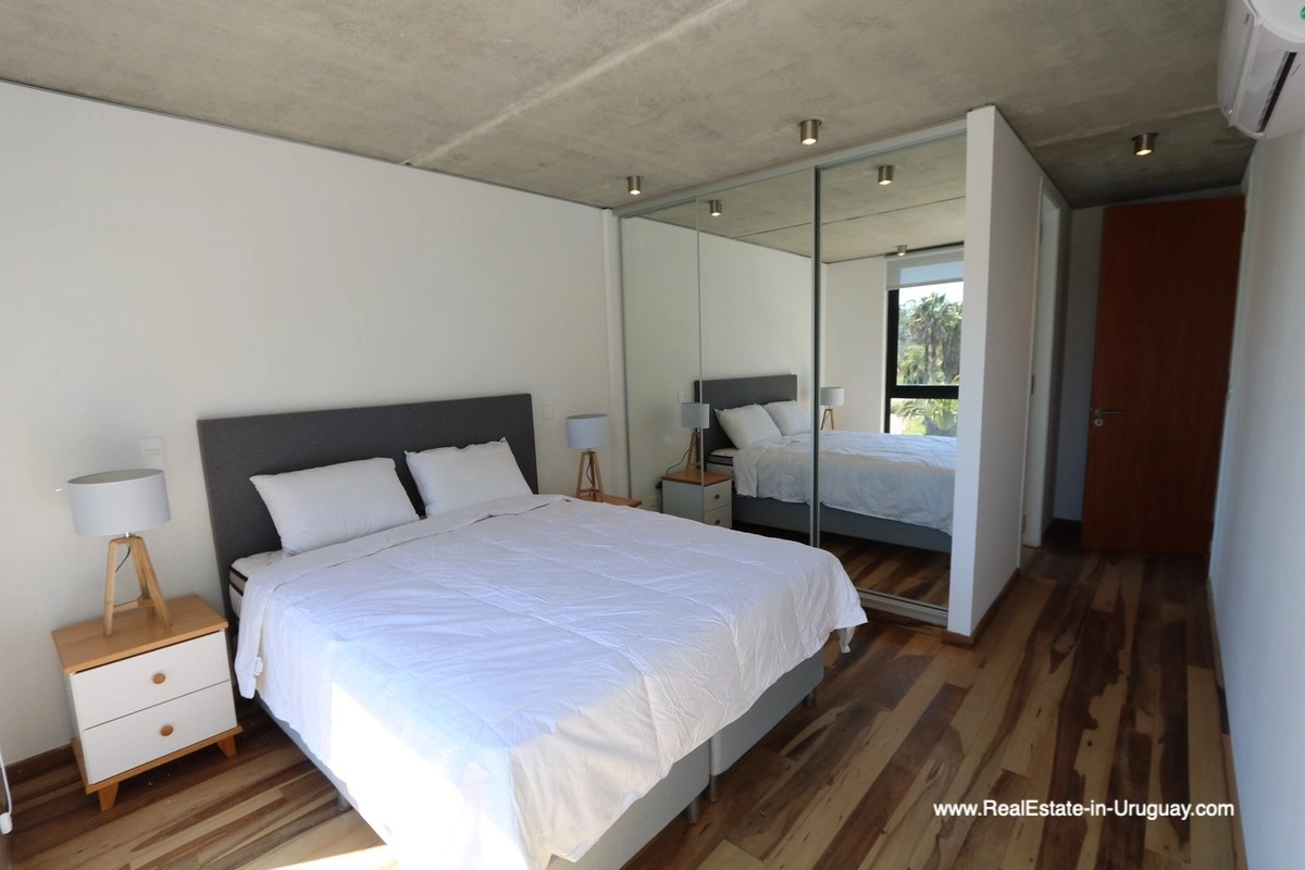 Master Bedroom of New Apartment in BE House in Punta del Este
