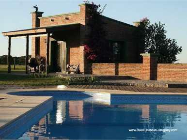 House of Large Estate near Jose Ignacio with 70 Hectares Land