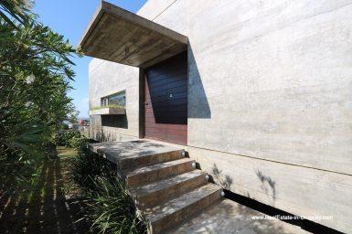 Entrance of Modern Home in Santa Monica near Jose Ignacio on the Lagoon