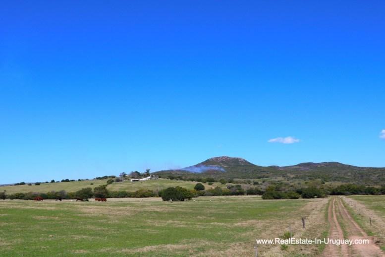 Road of 97 Hectares Farm near Pueblo Eden