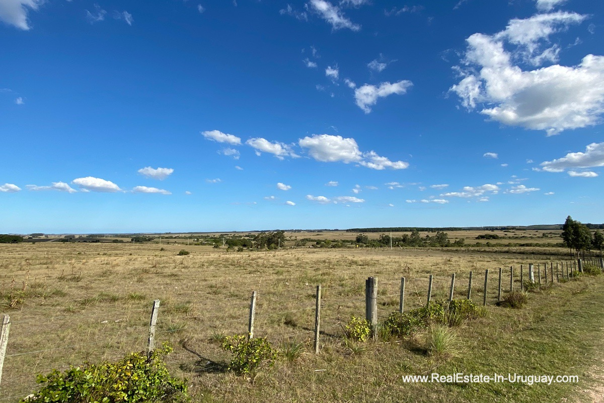 Fence of Land near the Winery and Town of Garzon