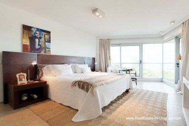 Master of Apartment opposite the Ocean in Punta del Este