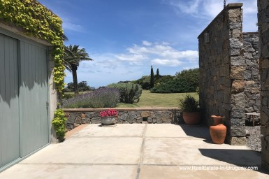 Entrance of Incredible Large Estate behind La Barra and near the Golf Course