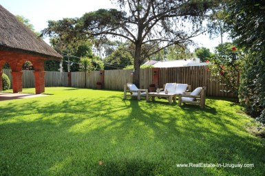 Garden of Well Maintained Quincho Home in the San Rafael Area