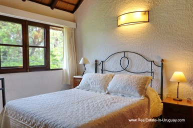 Guest Bedroom of Well Maintained Quincho Home in the San Rafael Area