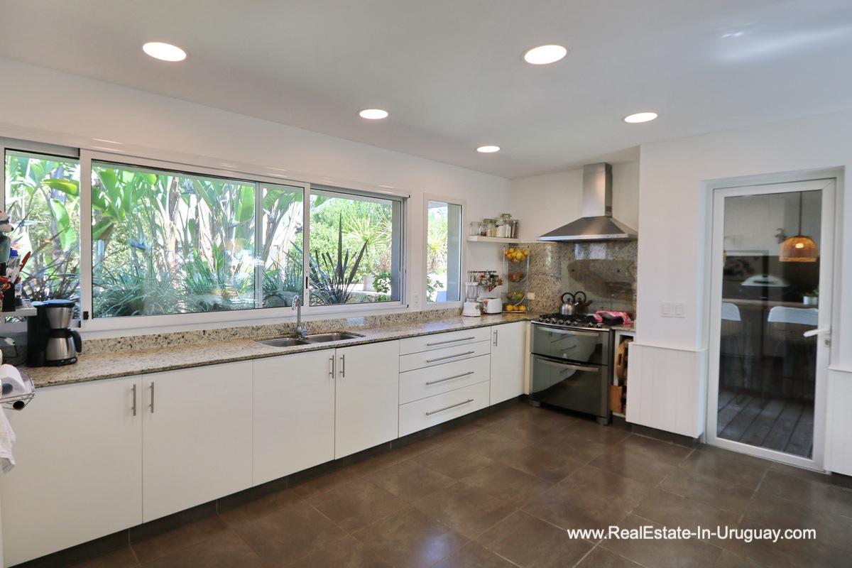 Kitchen of Excellent Home in Pueblo Mio by the Golf Course La Barra
