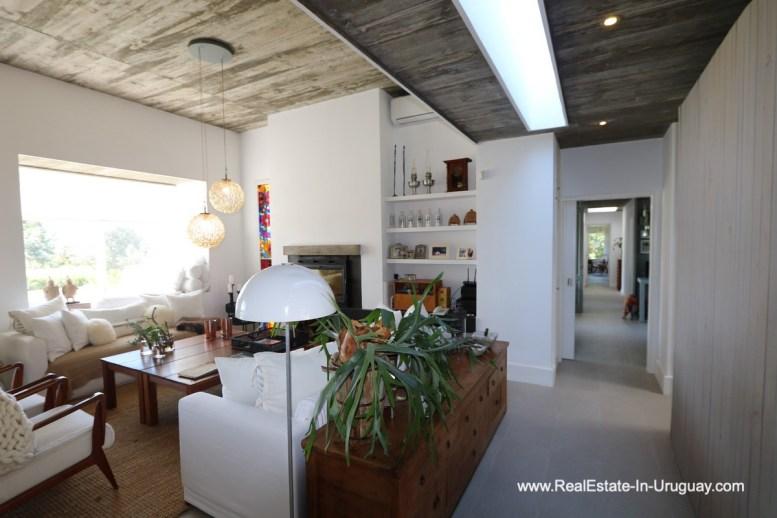 Living of Excellent Home in Pueblo Mio by the Golf Course La Barra