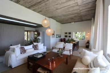 Living room of Excellent Home in Pueblo Mio by the Golf Course La Barra