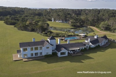 Outside Spectacular Beachfront Property near Jose Ignacio