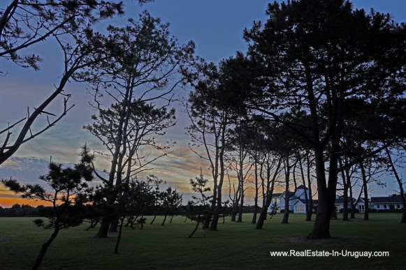 At night of Spectacular Beachfront Property near Jose Ignacio